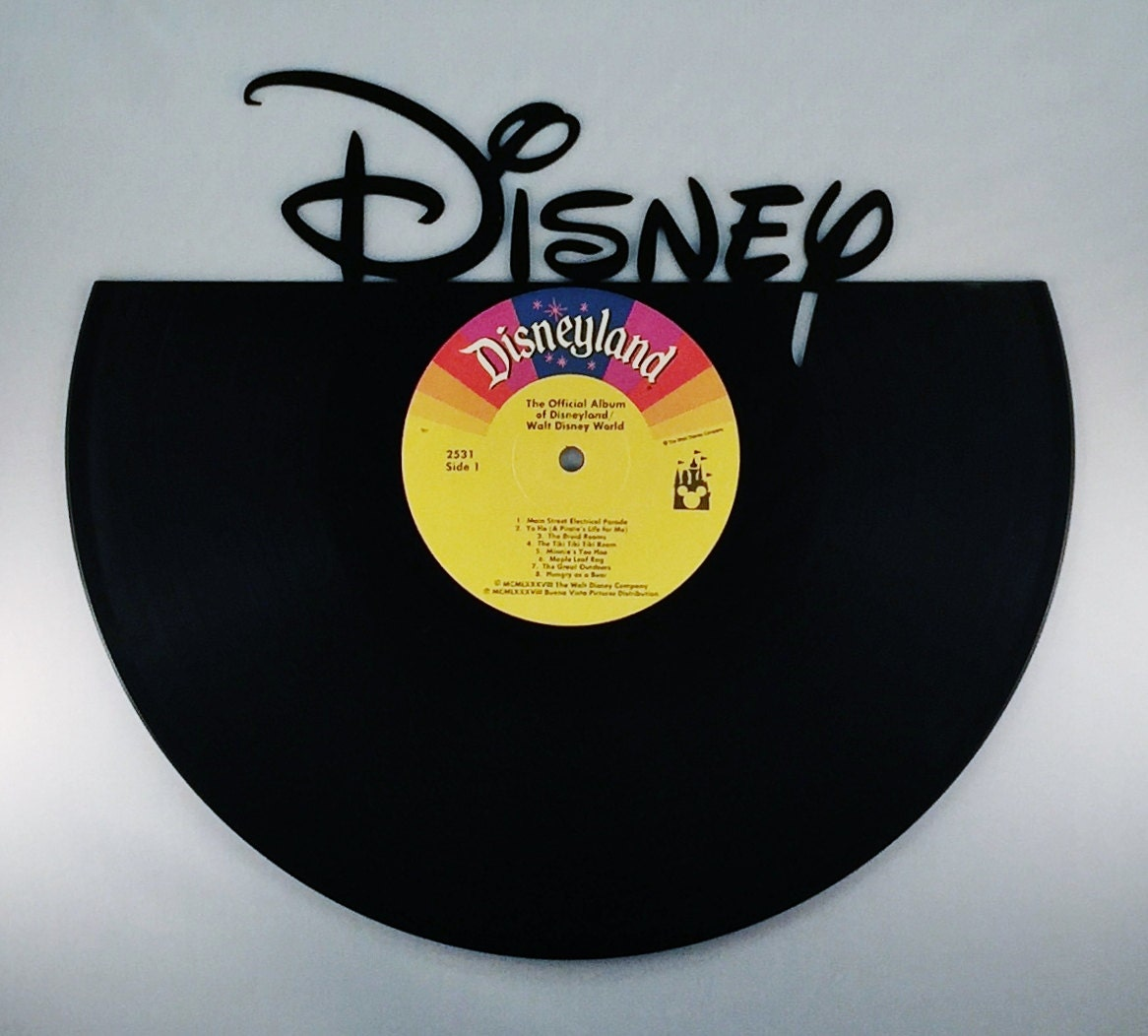 DISNEY Vinyl Record Wall Art
