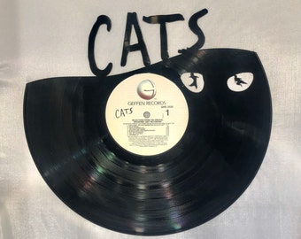 CATS MUSICAL Vinyl Record Wall Art