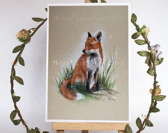 WILDLIFE GREETING CARDS - HelenFaerieArt