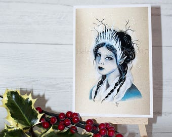 Winter Faery Cards