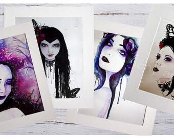 Mounted Faery Prints