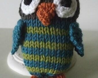 Knitting Pattern for Little Owlet
