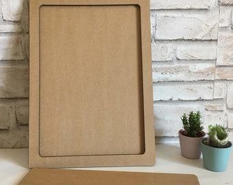 Cardboard frame, frame educational