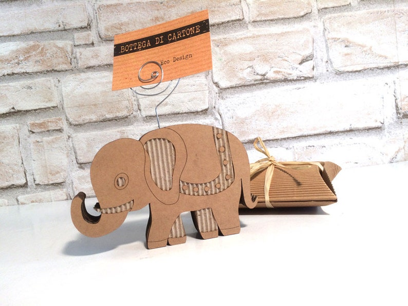 Elefante segnaposto elefante porta foto elefante bomboniera  8d41692967ca