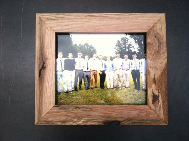 Custom Rustic Oak Picture Frames All Sizes Etsy