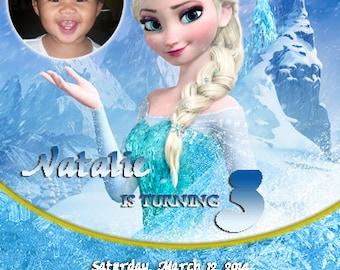 Tickets Frozen Invitation Frozen Birthday Party Invitation