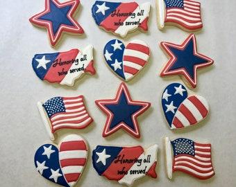 176ea2dfad76 Veterans Day Cookies