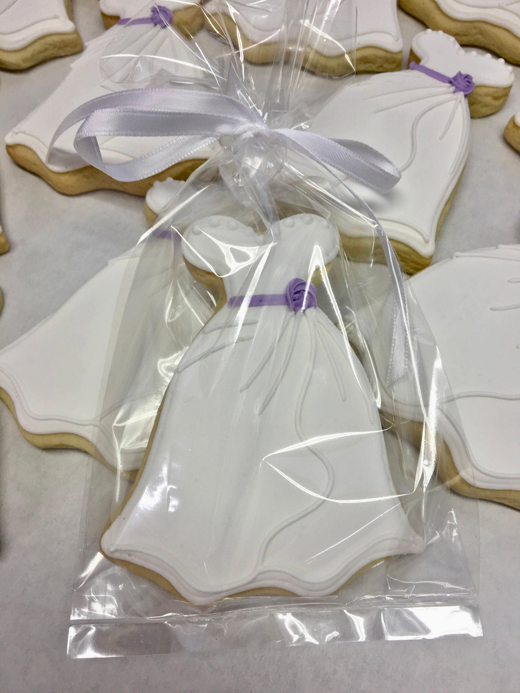 Bridal Shower Cookies Esty Wedding Cookies Wedding Dress Etsy