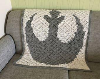 Pattern 2 Sizes Crochet Star Wars Rebel Alliance C2c Etsy
