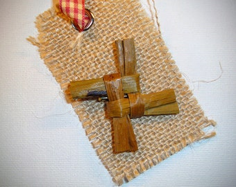 St. Brigid's Cross Christmas Tree Ornament
