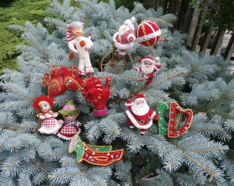 Japanese Christmas Tree Ornaments.Japan Christmas Etsy