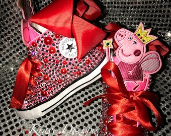 Youth Toddler Bling Chuck Taylor Shoes 4debf33d0553