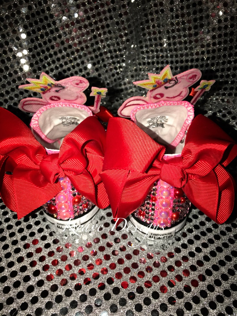 Youth Toddler Bling Chuck Taylor Shoes Bling Shoes Newborn  187ce3d239f4