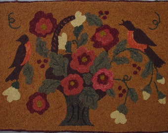 The Wedding Song Rug Hooking Pattern