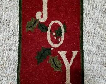 Joy Rug Hooking Pattern