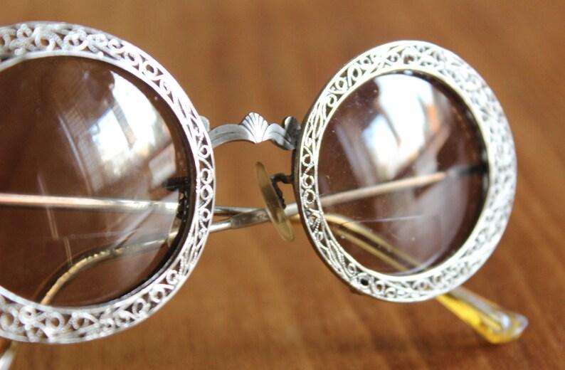 ae9f0a960a Rare Tura by Christian Dior Vintage Cast Metal Eye Frames