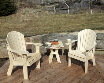 Adirondack Arm Chair Plans   DWG Files For CNC Machines