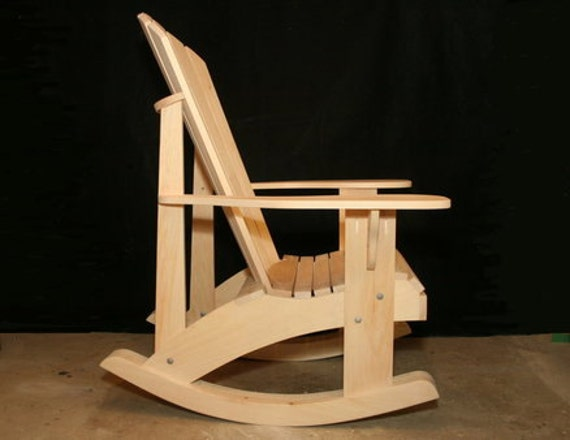 Awe Inspiring Adirondack Rocking Chair Plans Dwg Files For Cnc Machines Gmtry Best Dining Table And Chair Ideas Images Gmtryco