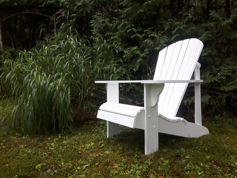 Adirondack Chair Plans  DWG files for CNC machines image 0