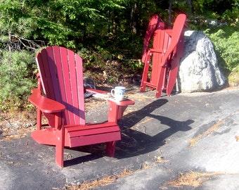 Adirondack chair plans par thebarleyharvest sur etsy - Chaise adirondack france ...