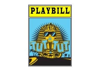 Theater / Show Charm - Playbill Play Bill - Tut Tut
