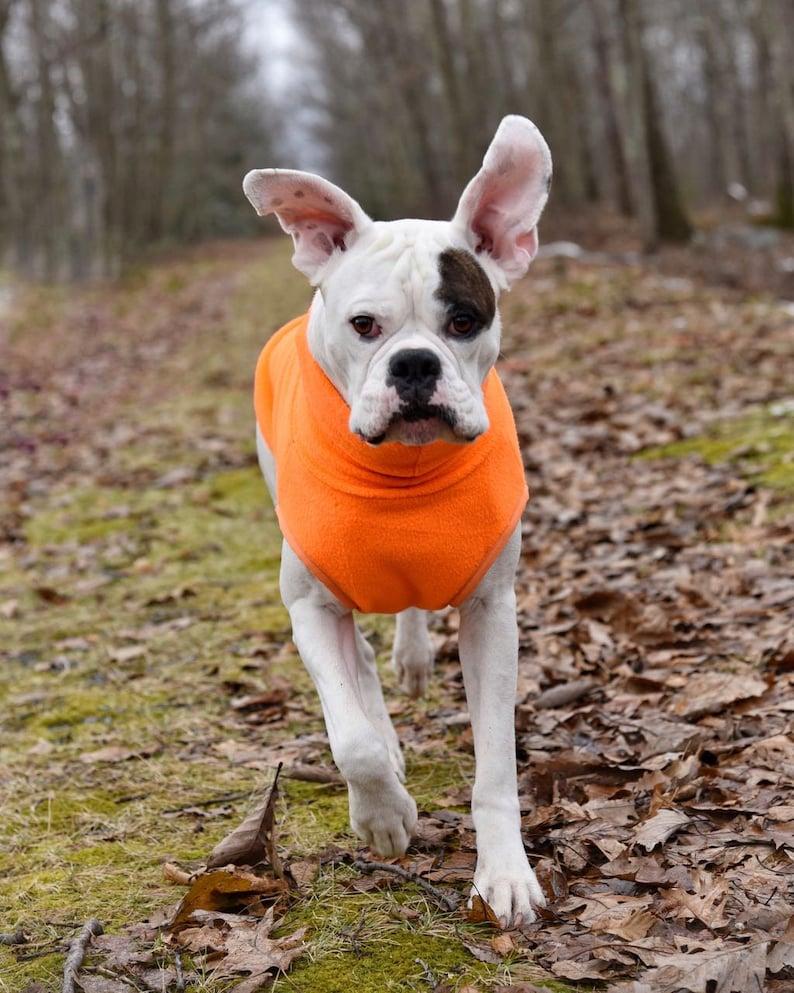 Safety Orange Hunting Turtleneck Sweater Fleece Clothing for image 0