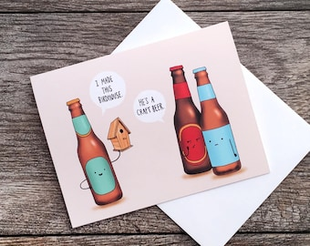 Craft Beer Greeting Card *UPDATED*