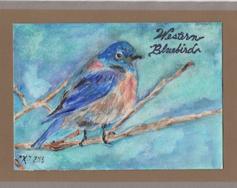 Original Watercolor Note Cards by Natalie O'Neil