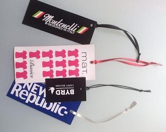 200Pcs. Full Colour Custom Hang Tag ( Express Shipping)
