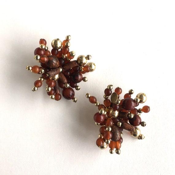 Monies earrings, Gerda Lynggaard earrings, Stateme