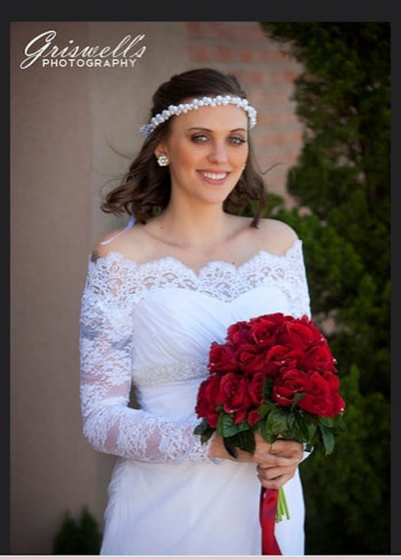 aad12ce992b Plus Size Bridal Off-Shoulder cover up Lace wedding jacket