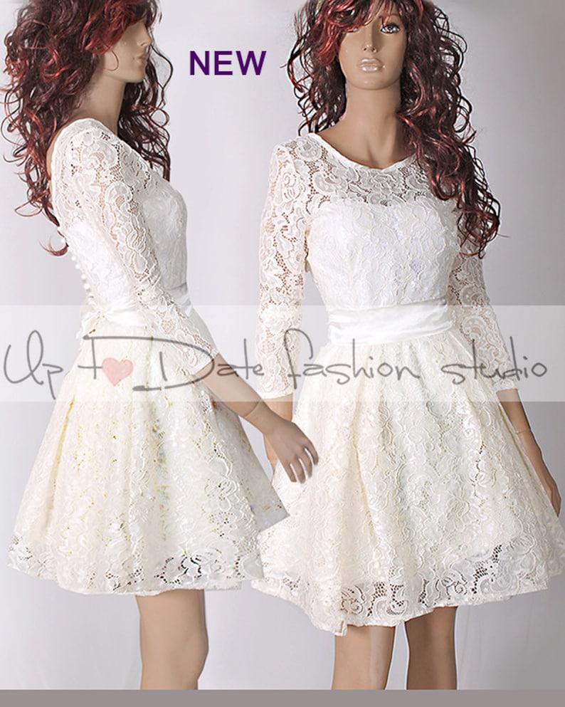 Plus Size wedding party simple wedding dress bridesmaid | Etsy