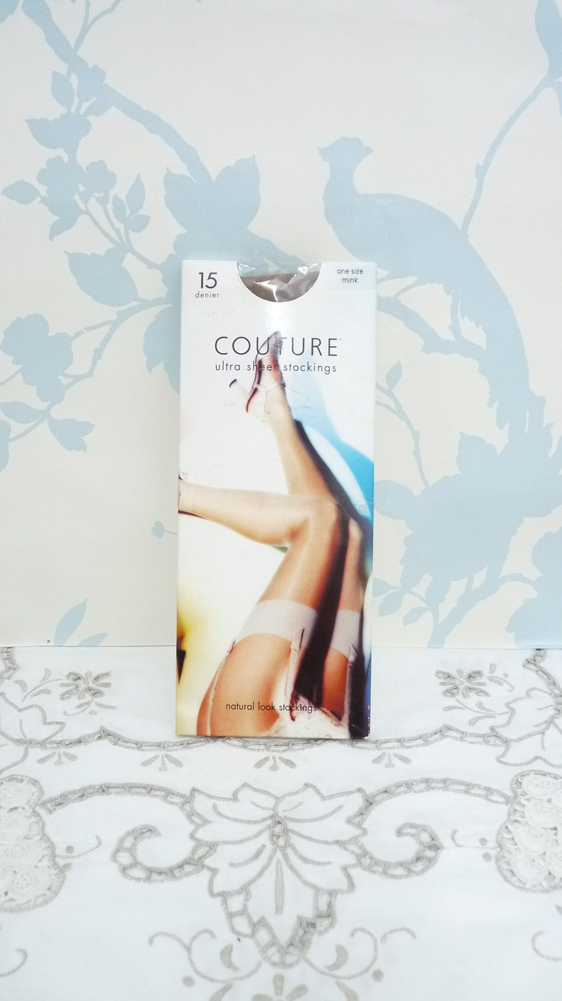 7fee26bb939 Couture Ultra Sheer Stockings 15 Denier Color Mink One