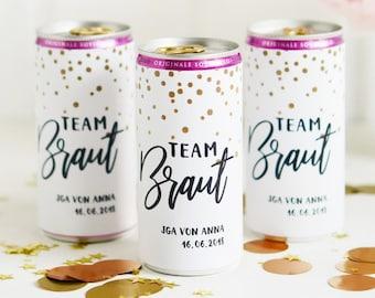 JGA Beverage Cans Banderole Dots gold