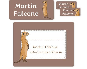 Erdmännchen Schlüsselanhänger Miniblings Anhänger Schlüsselring Präriehund 8cm