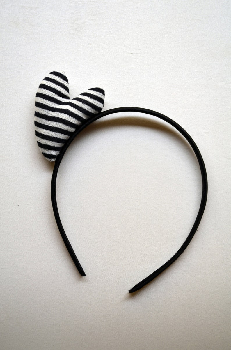 Heart hairband  for little girl and women Hair clip Betty Boop style.