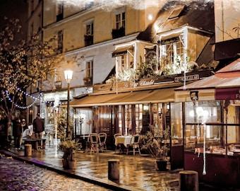 Paris Art, Paris Photography, Paris Print, Paris Decor, Latin Quarter In Copper, French Photography, Fine Art Photography, French Art, Photo