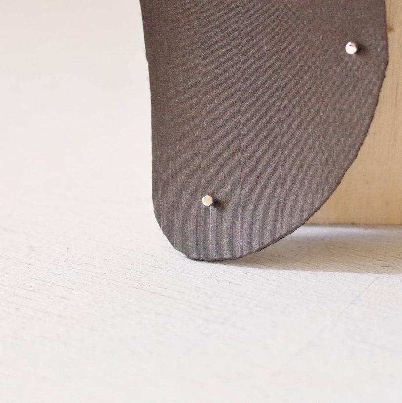 c8b274cf1 1mm 2mm Minimalist Tiny Hex Dot Sterling Silver Stud Earrings | Etsy