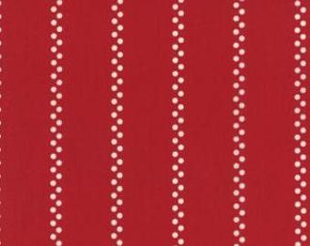 A la Carte Bistro Stripe by American Jane for Moda Fabrics, Red 2166513