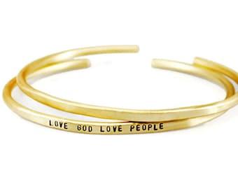 Personalized Bracelet. Inspirational Bracelet. Custom Bracelet. Brass Engraved Bracelet. Womens Personalized Gift. Birthday Gift For Her.