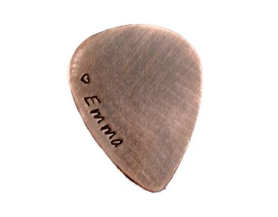 custom guitar pick personalized guitar pick pocket keepsake etsy. Black Bedroom Furniture Sets. Home Design Ideas
