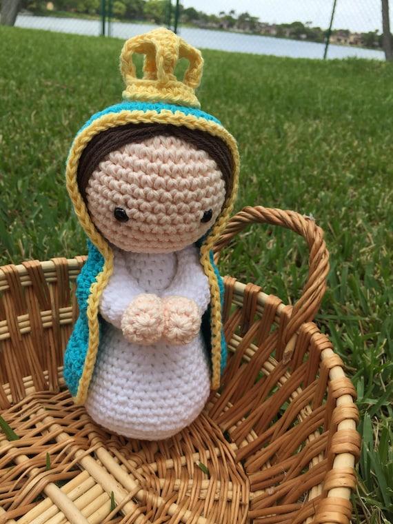 Virgen del Valle amigurumi muñeca hecho a mano hermoso | Etsy