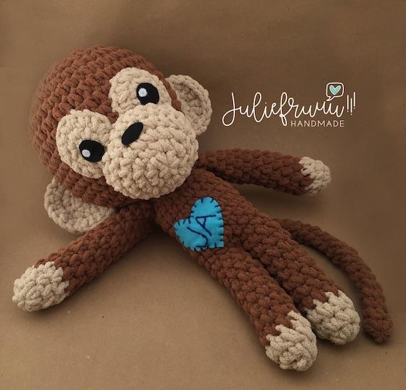 PATRÓN/PATTERN: Monkey Amigurumi Mono Monito crochet English | Etsy