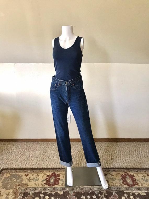 "1970's-80's Redline Levi's 501 Jeans 28"""