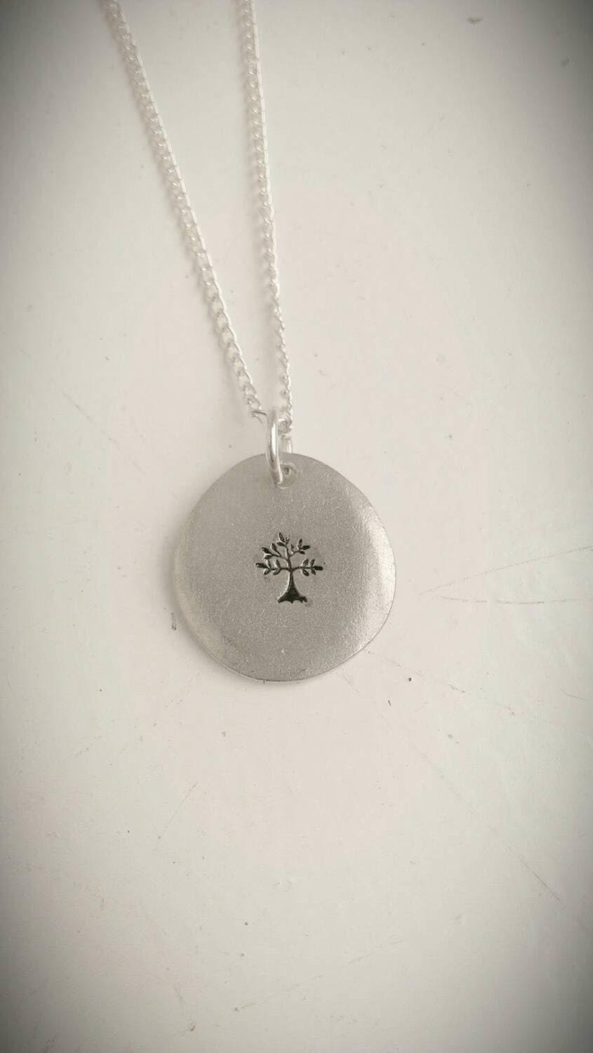 Tree necklace - nature jewellery - pagan jewelry - spiritual necklace - Spring, nature, hippie, boho jewellery