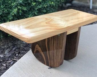 Superb Meditation Bench Etsy Lamtechconsult Wood Chair Design Ideas Lamtechconsultcom