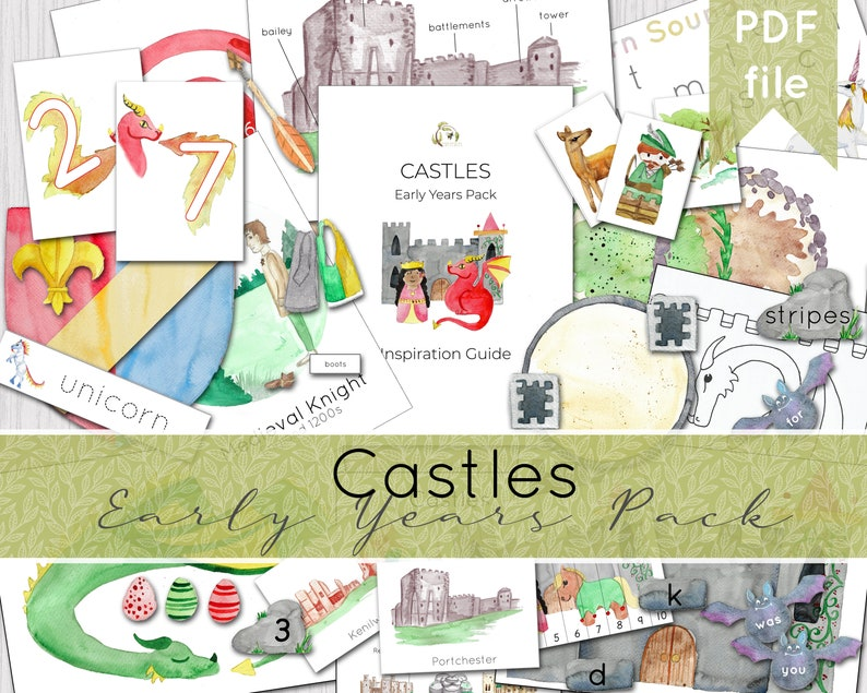 Castle Early Years Complete Curriculum Unit  Preschool  image 0