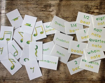 Music Notation Flashcards   Musical Theory Resources