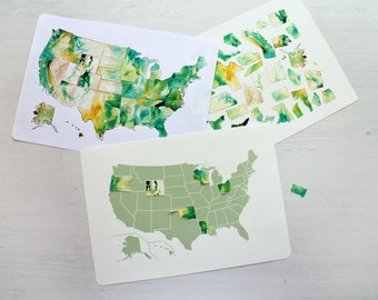 US Mapping Activity | Build the United States Activity