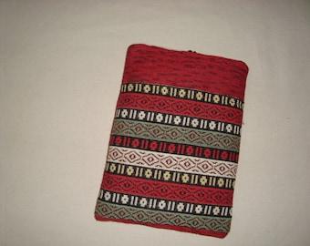SALE Handmade Kindle Sleeve  Multicolor  Design Free shipping